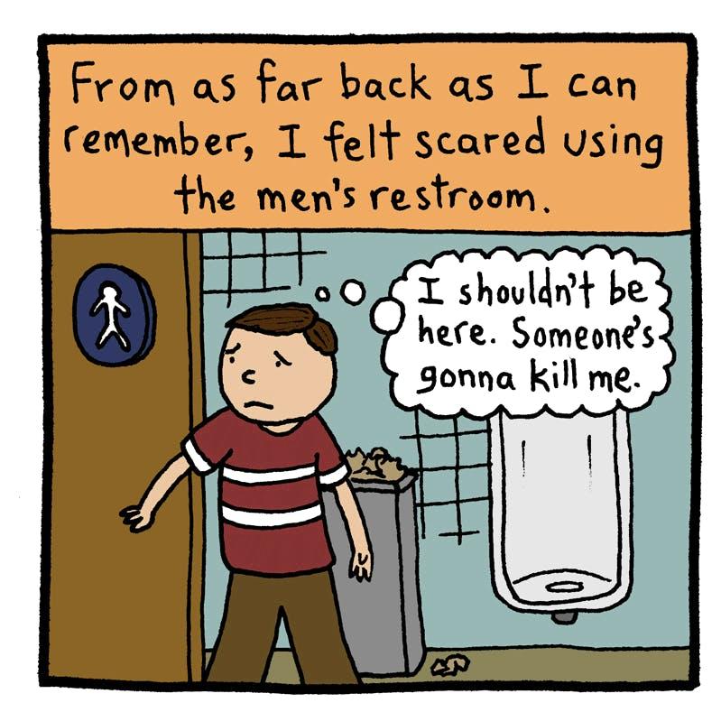 Five Trans Cartoonists Respond To Bathroom Hysteria The Nib